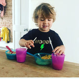 Personalised and Neon Bolt T shirt - Baby