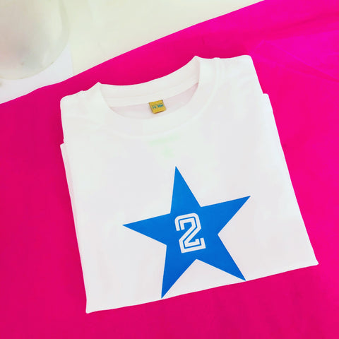Number Star T shirt