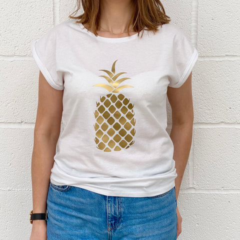 Ladies Pineapple T shirt