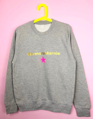 Kids #BEMORE...personalised sweatshirt