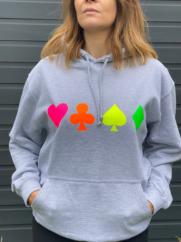 PLAYING CARD lightweight hoodie