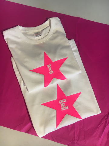 Initial or Number Star T shirt