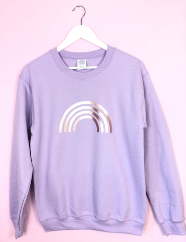 NEW Summer Pastel LILAC sweatshirt