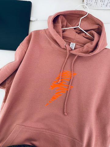 ZEBRA BOLT summer light weight hoodie