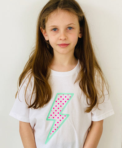 Kids DOT BOLT t shirt