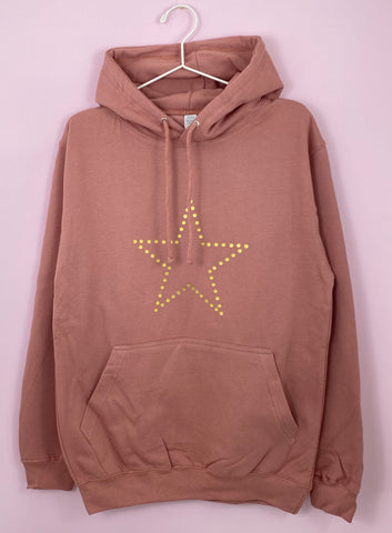 DOT STAR summer light weight hoodie