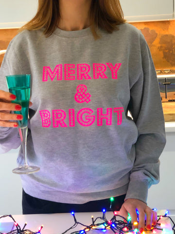 Christmas MERRY & BRIGHT sweatshirt