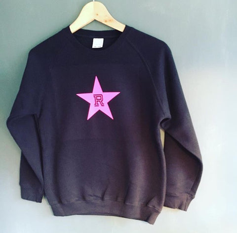 Kids initial star sweatshirt