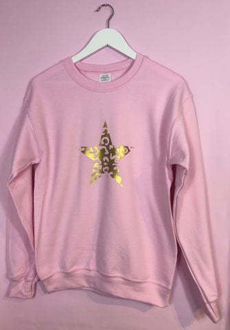 NEW Summer Pastel BABY PINK sweatshirt