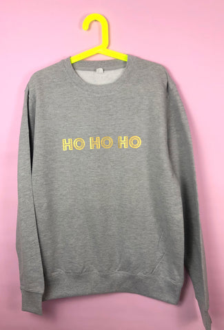 KIDS Christmas HO HO HO sweatshirt