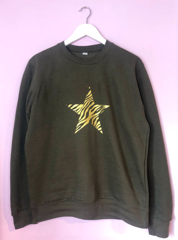ZEBRA STAR Sweatshirt