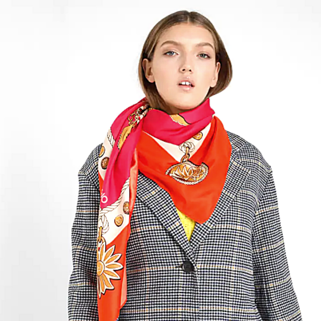 LIU JO 'Sovrana' Scarf ORANGE