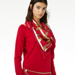 LIU JO 'Manhattan' Scarf' BRIGHT RED