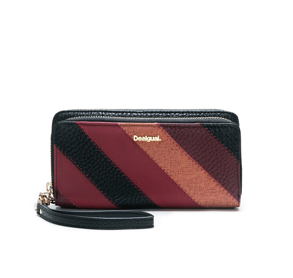 DESIGUAL JUNO two levels wallet