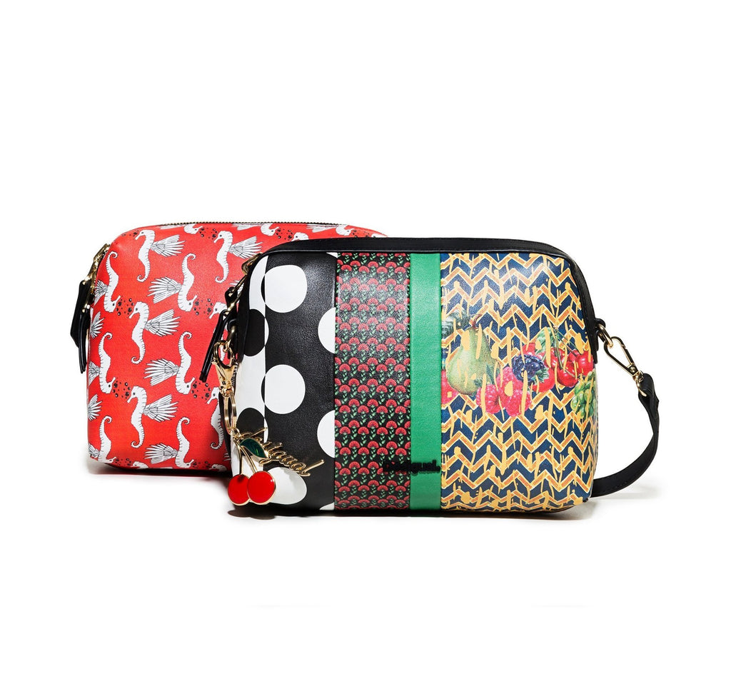 DESIGUAL Reversible Lola Patch Marvin Bag