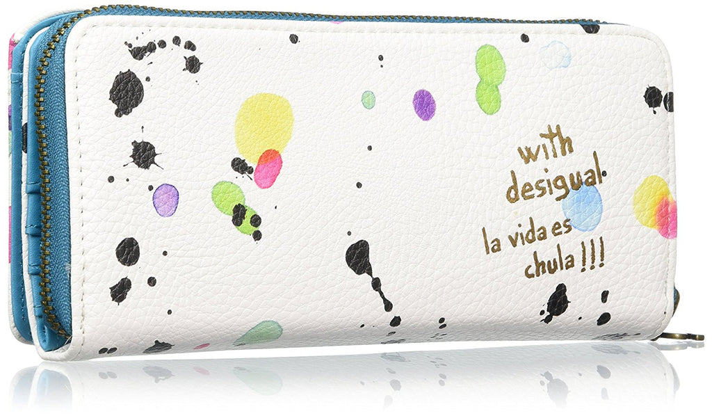 DESIGUAL MARIA NEW SPLATTER wallet