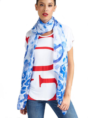 GUESS Patterned Scarf