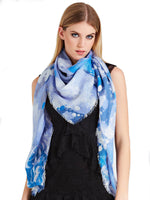 GUESS Heart Print Scarf