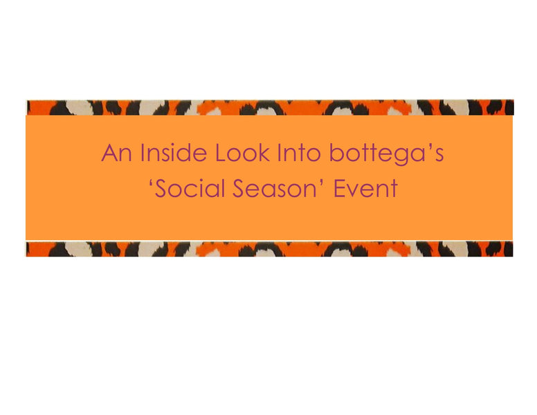 Bottega's Guide To Dressing For The Social Season