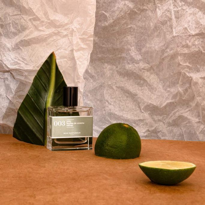003: Yuzu / Violet Leaves / Vetiver