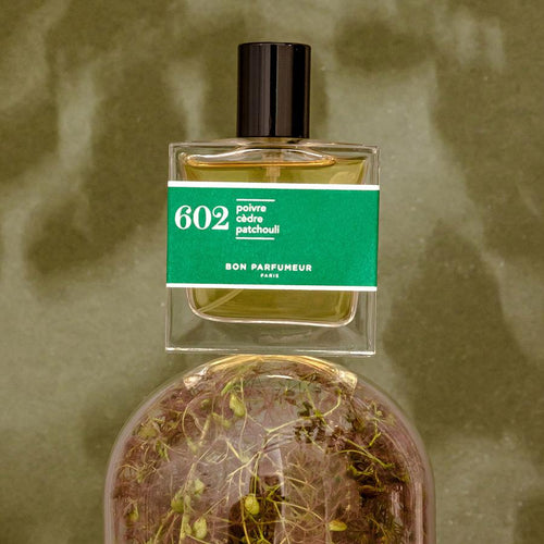 602: Pepper / Cedar / Patchouli Mini Shot