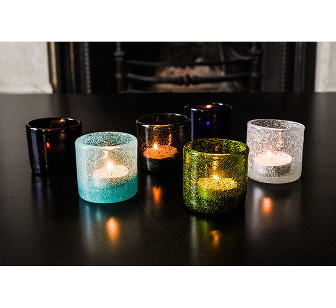 Handmade Tea Light Frost