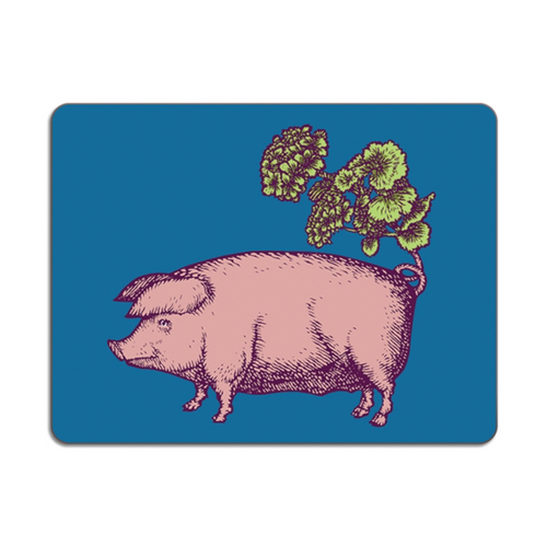 Avenida Home Pig Table Mat