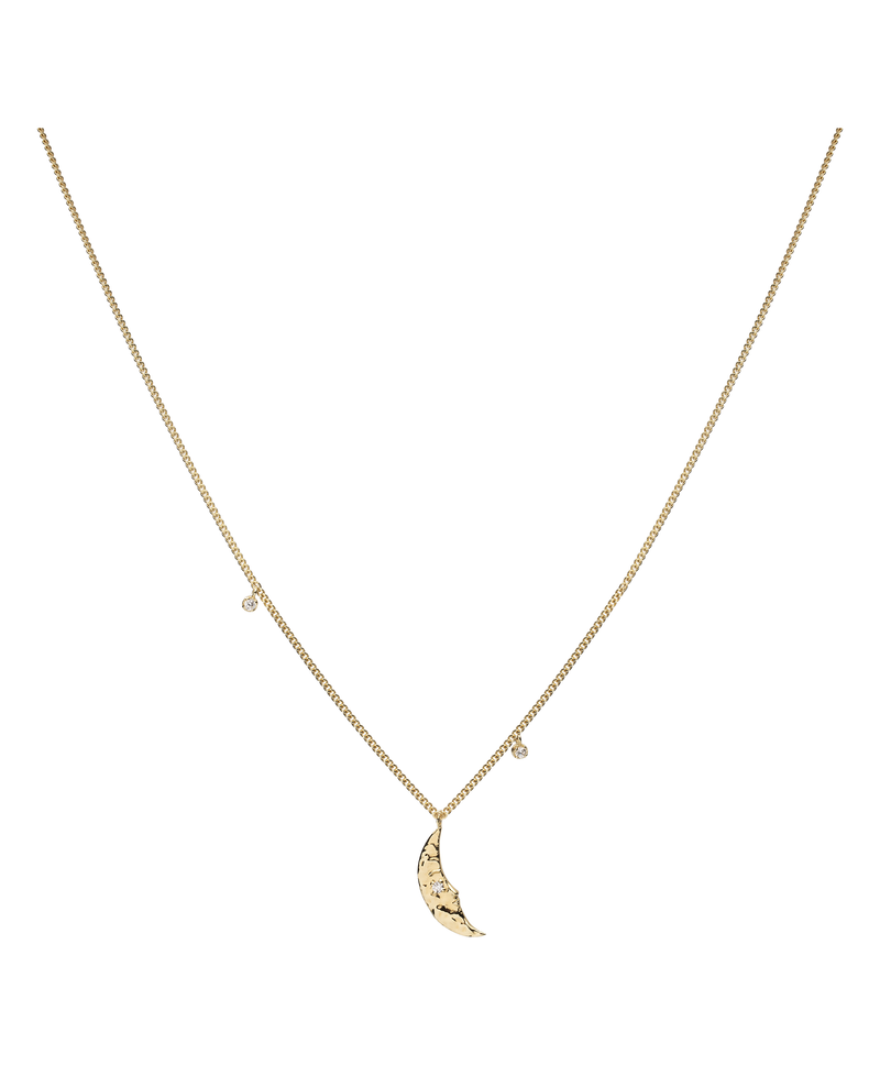 Moonlight Necklace Gold