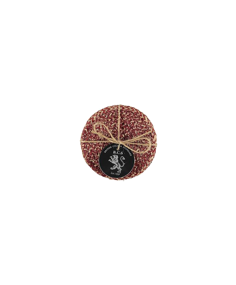 Guardsman Red Woven Jute Coaster Set