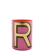 Alphabet Brush Pot R