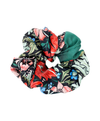William Morris Acanthus Leaf Scrunchie