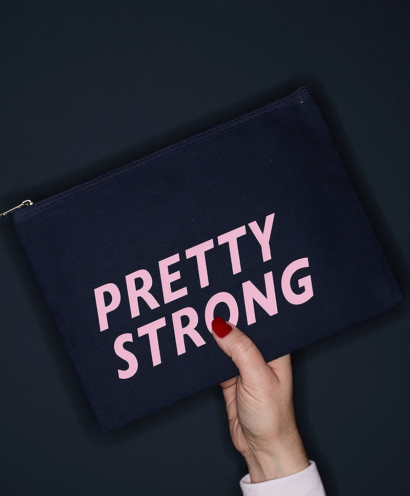 Navy 'Pretty Strong' Purse
