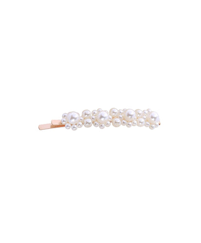 LTA Bubble Pearl Hair Slide Gold