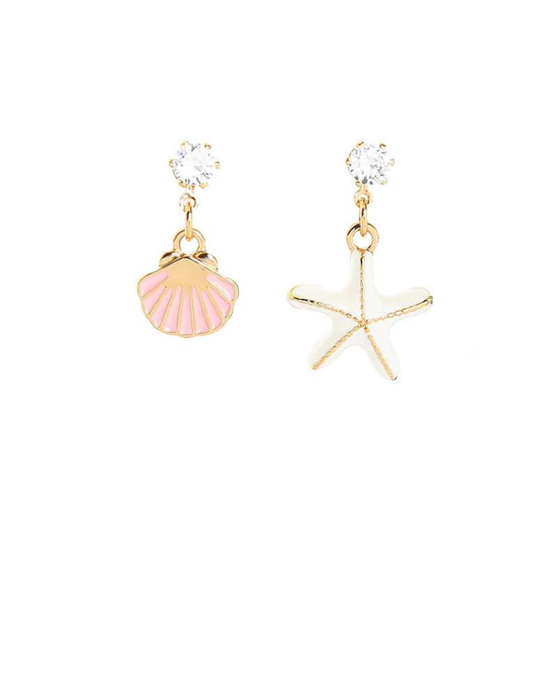 Starfish & Shell Earrings