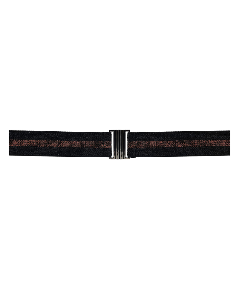 Lurex Elastic Belt Black Mix