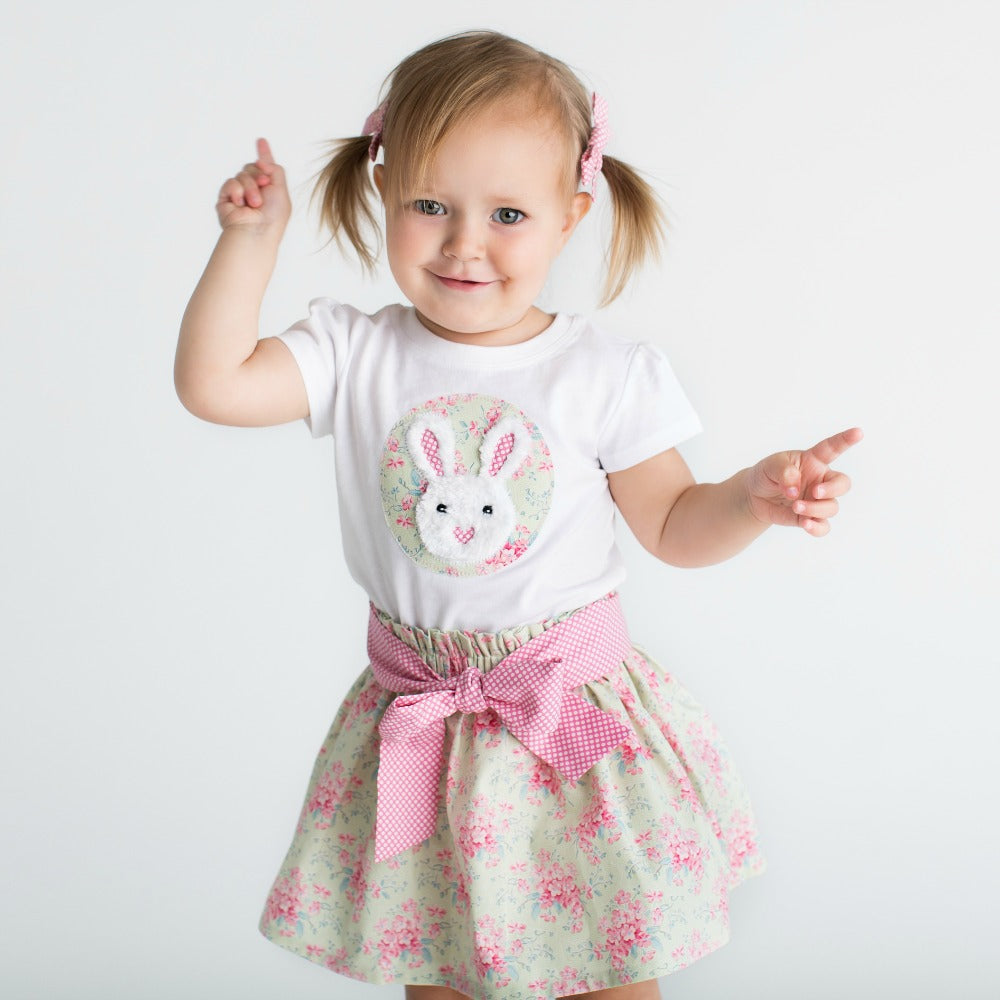 Miss Bunny Easter Skirt and top set