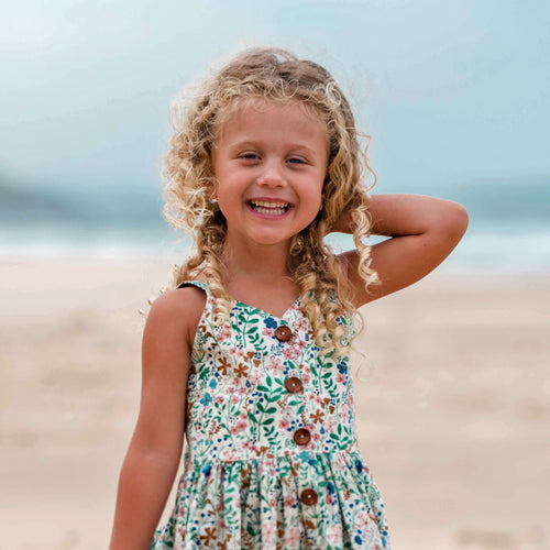 Wildflower sunny day dress