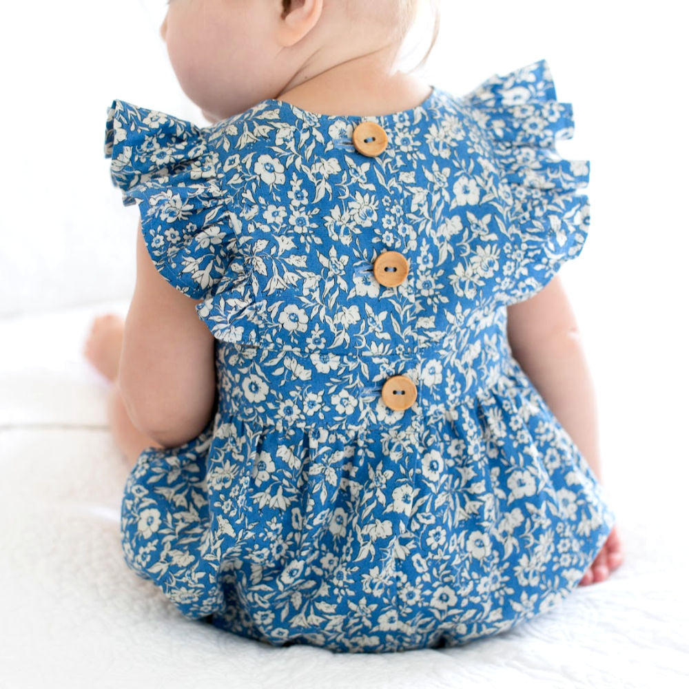 Liberty Blue Polly Playsuit