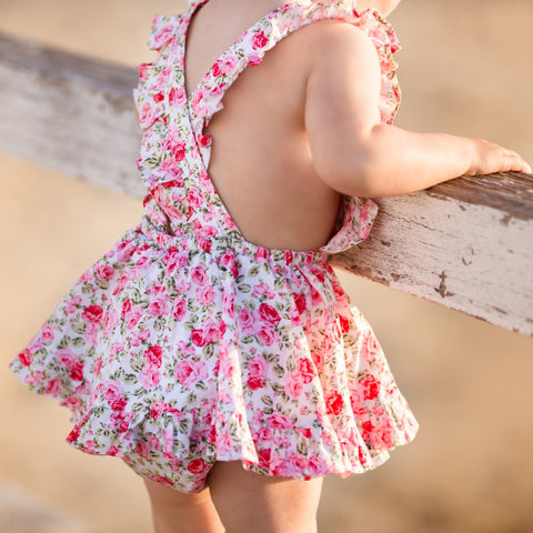 Sunny day dress in Aurora Pink