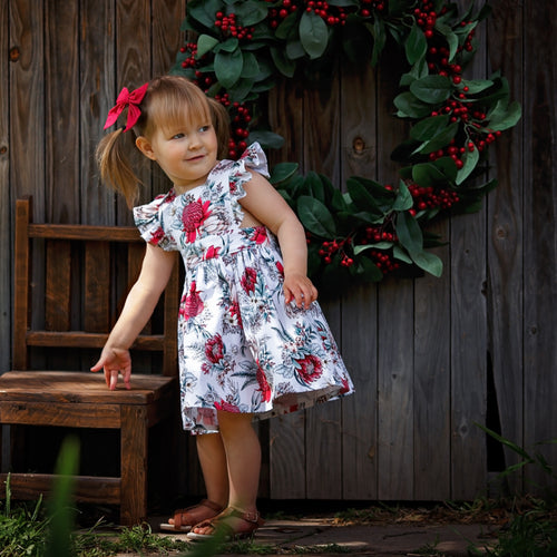 Christmas natives polly pinafore