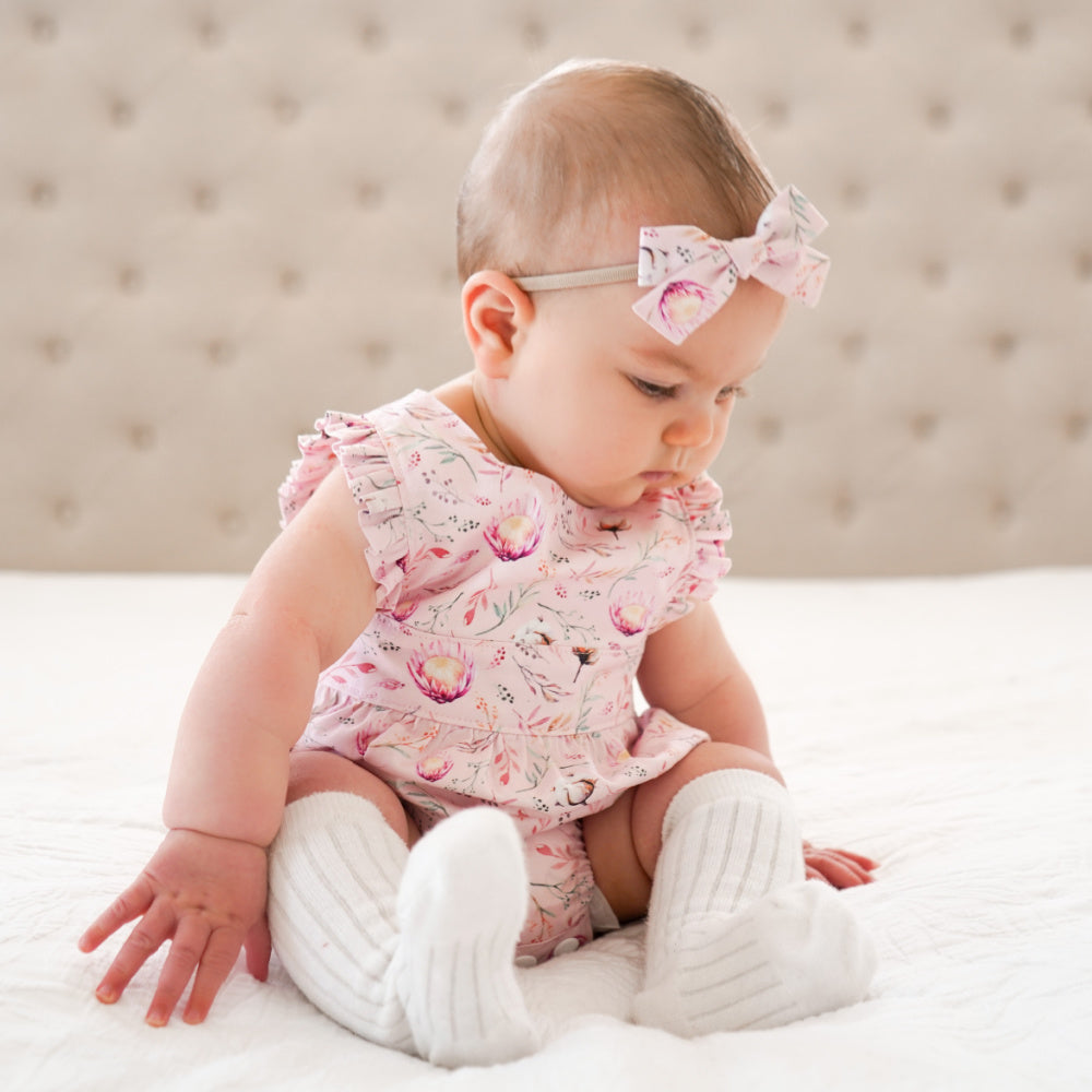 Native Pink Polly Playsuit