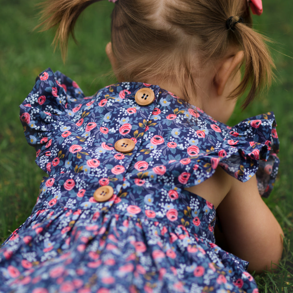 Rosa polly pinafore