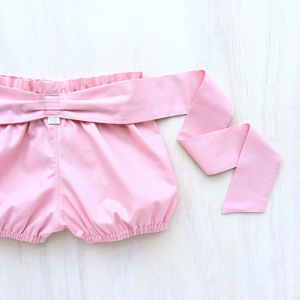 Cherry Blossom Sash Shorties