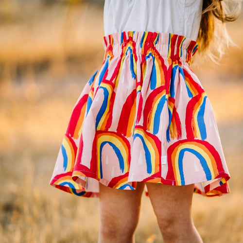 PRE ORDER Rainbow Statement Skirt