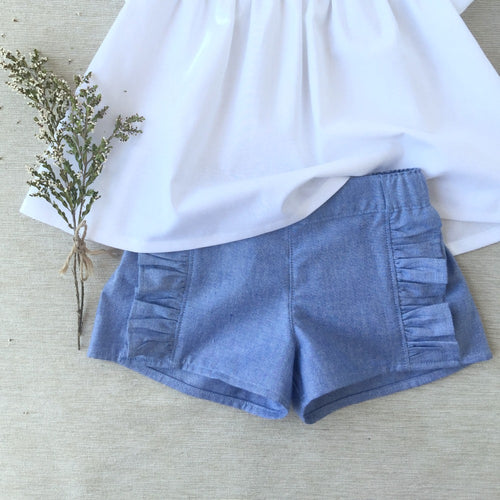 Chambray Seaside shorts