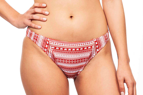 babe bottom elephants print - בגד ים נויקה | ביקיני, בגד ים שלם bottom Noyka Surf