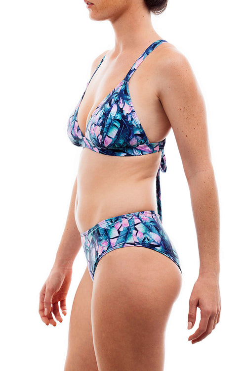 light cross +basic bottom banana print - בגד ים נויקה | ביקיני, בגד ים שלם bikini Noyka Surf