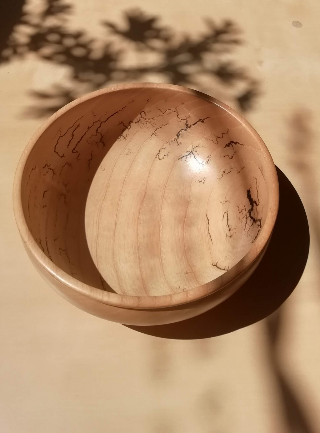 Filipe Ribeiro - Woodturned Ash Tree Bowl - A Luz Natural
