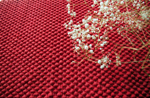 Washable Rug | Pompom pattern - A Luz Natural