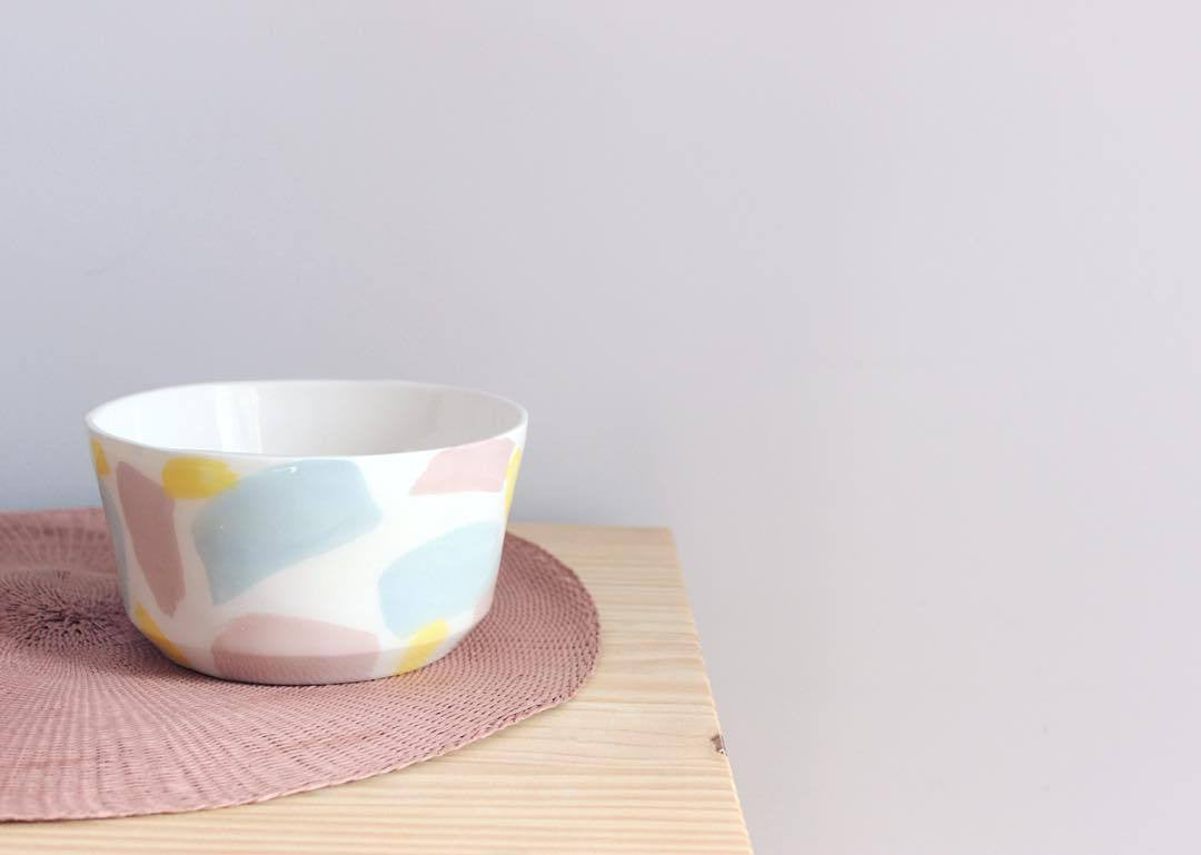 Temple Ceramics - Bowl | Splash Collection - A Luz Natural